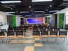 路演中心装备了P2.5超清LED屏和高端声响设备,可容纳200人的会议活动,是日常展开创业项目路演、企业招商会、公司年会、各类研讨会等活动的区域